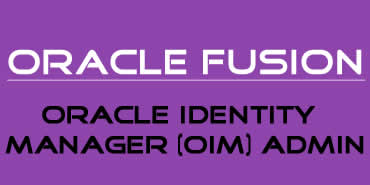 Oracle Identity Manager(OIM) Admin