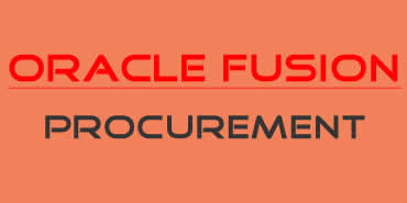 Oracle Fusion Procurement